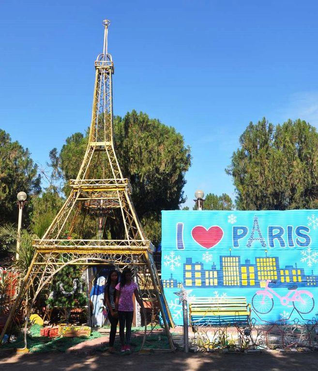 Une tour Eiffel à Tacloban