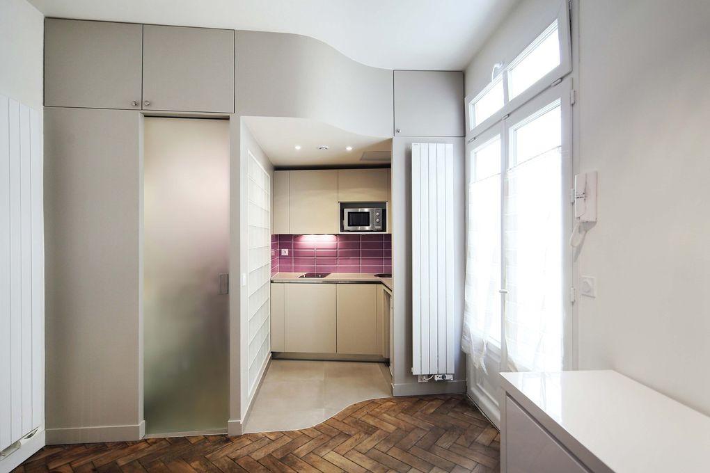 Un studio de 20 m2 avec mezzanine