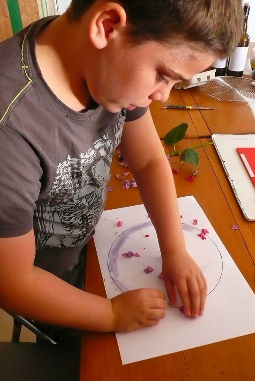 Premier atelier avec les enfants