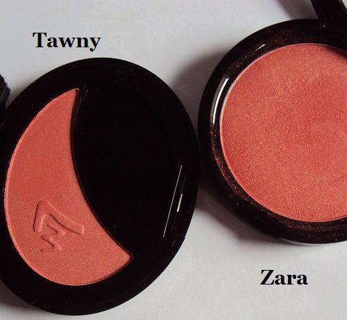 Mon blush Tawny de W7