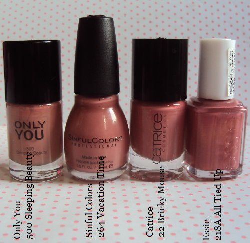 Sur mes ongles : Vacation Time de Sinful Colors