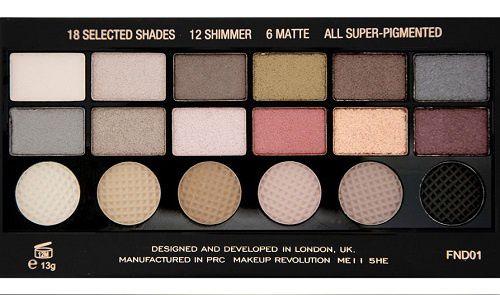 MakeUp Revolution : les palettes Salvation