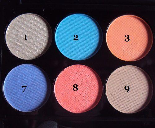 Sleek MakeUp : ma palette Del Mar (volume 1)