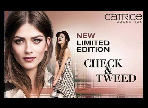 Catrice Limited Edition : Check &amp&#x3B; Tweed