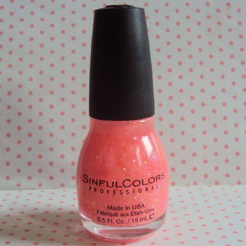 Pinky Glitter de Sinful Colors