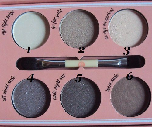 How to make Nude Eyes de Essence