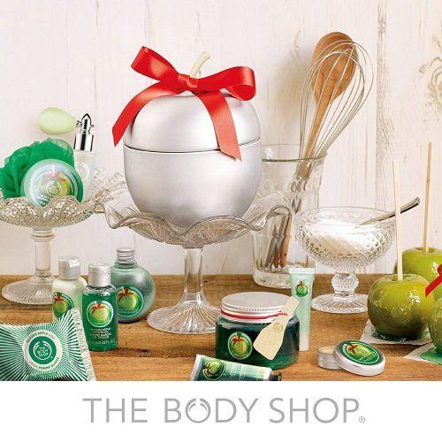 L'intriguante pomme glacée de The Body Shop