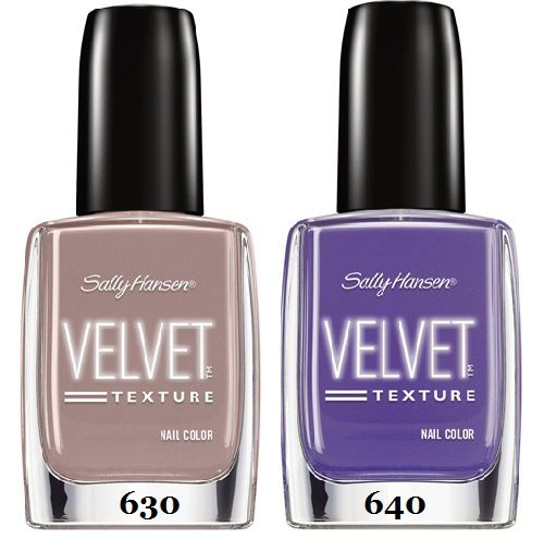La collection Velvet Texture de Sally Hansen
