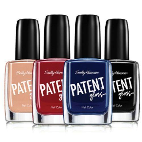 Patent gloss et Luxe Lace de Sally Hansen