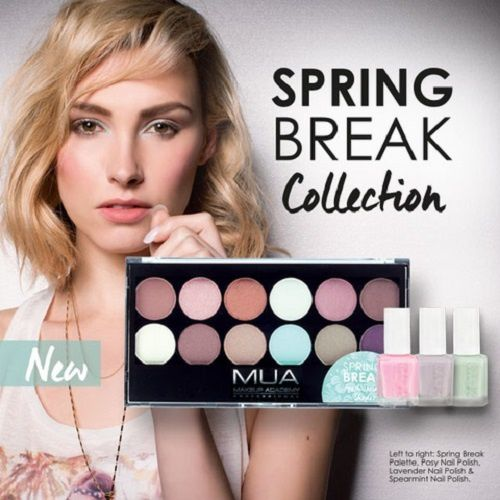Spring Break, la nouvelle palette de MUA
