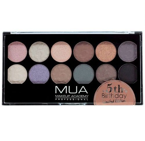 La palette 5th Birthday de MUA