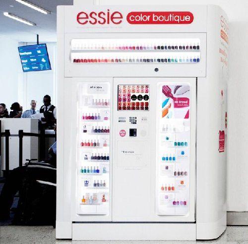 Les vernis Essence en distributeur automatique