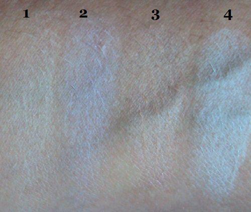 Les poudres correctrices de teint de MUA
