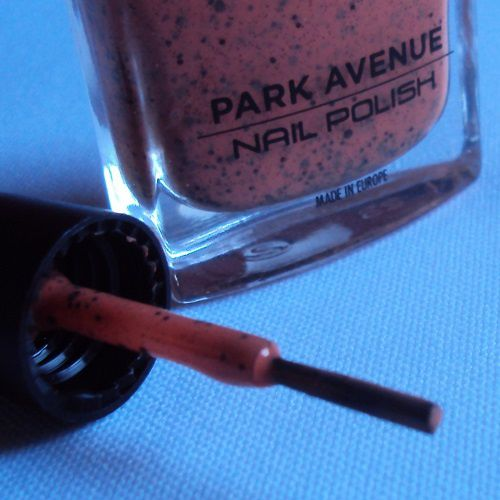Sur mes ongles : Sweet Orange Delight de Park Avenue