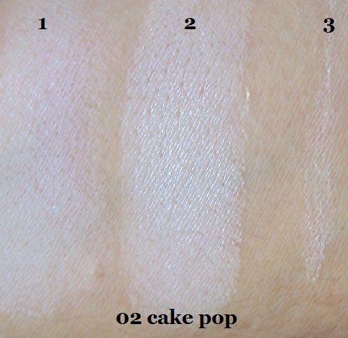 Les fards I ♥ Nude de Essence en teintes 02 et 05