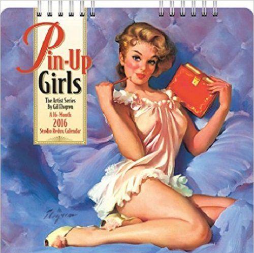 Un calendrier pin up (idée cadeaux #7)