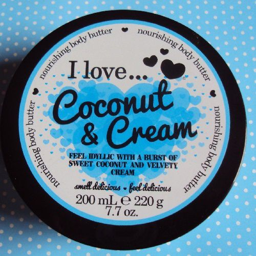 Mon beurre corporel I Love ... Coconut &amp&#x3B; Cream
