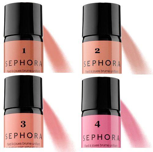 Le blush en spray de Sephora, une bonne idée ?