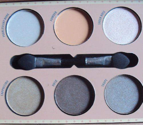 Ma palette Charming Nude Eyes de Boulevard de Beauté