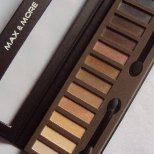 Ma palette Absolute Nudes de Max &amp&#x3B; More (Action)