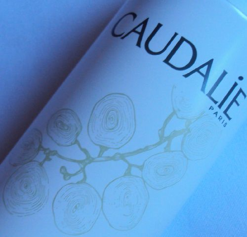 Plaisir post-démaquillage : l'eau de raisin bio de Caudalie