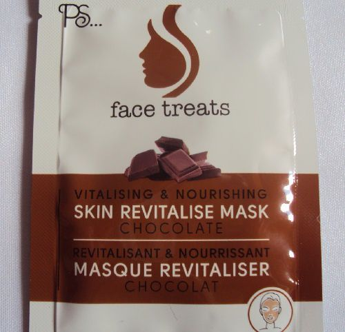 Le masque revitalisant au chocolat de PS