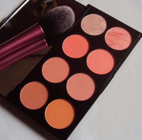 Ma palette de blush Hot Spice de Revolution Make Up
