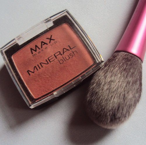 Mon blush minéral de Max Make up (teinte rosewood)
