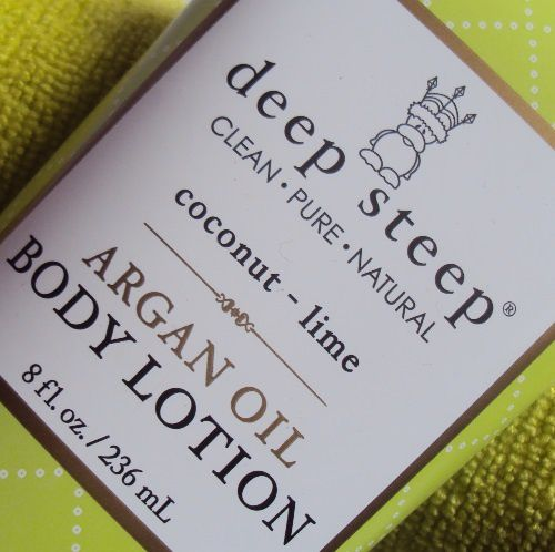 Ma lotion corporelle coconut lime de Deep Steep