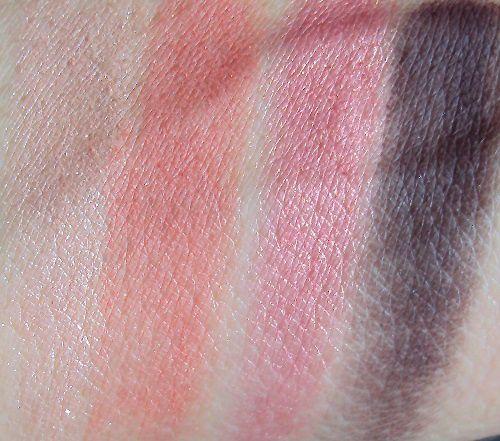 Ma palette Corail Code de Biguine makeup
