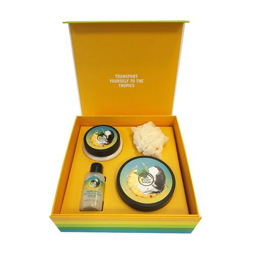La collection Pinita Colada de The Body Shop