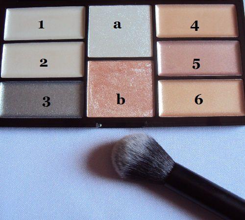 Ma palette Pro Crème &amp&#x3B; Highlight