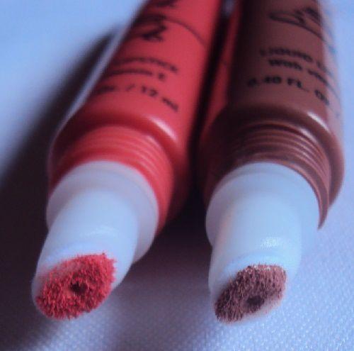 Mes deux nouvelles teintes de Lip Lava (Unleash et Forgiven)