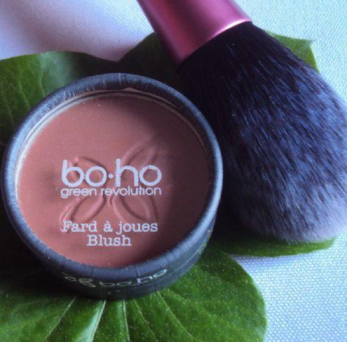 Mon blush bois de rose de Boho Cosmetics