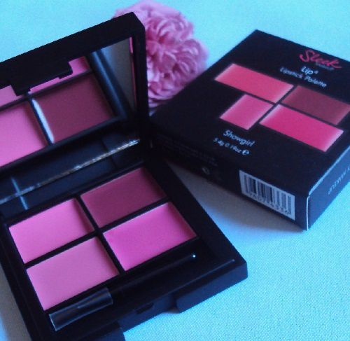 Ma palette Lip4 Showgirl de Sleek MakeUp