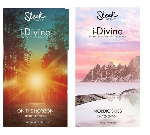 On the Horizon et Nordic Skies, deux autres palettes Sleek MakeUp