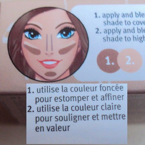 Le mini contouring set de Essence (coll. Me &amp&#x3B; my umbrella)