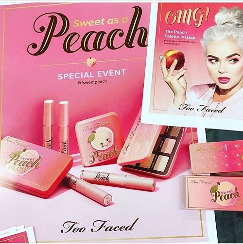 Ce que contiendra la Peach Collection de Too Faced