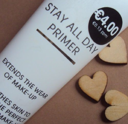 Stay All Day primer de P.S. (Primark)