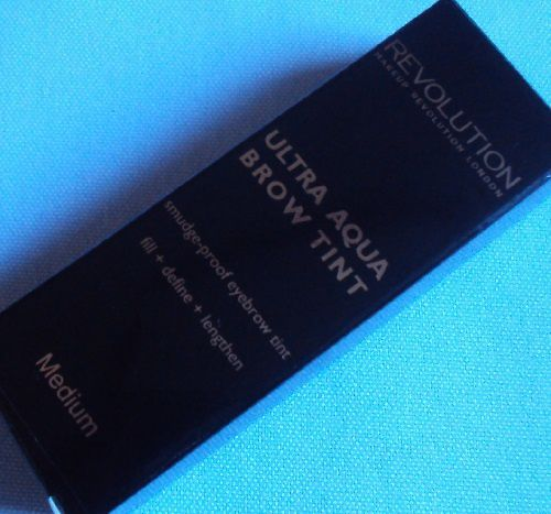 Ultra Aqua brow tint de Revolution Make Up