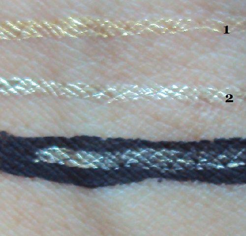 L'eyeliner doré de Essence (coll. The Little X-Mas Factory)
