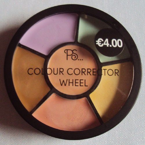 Colour Corrector Wheel de P.S. (Primark)