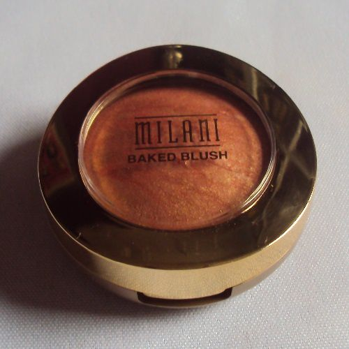 Baked powder blush de Milani (06 Bellissimo bronze)