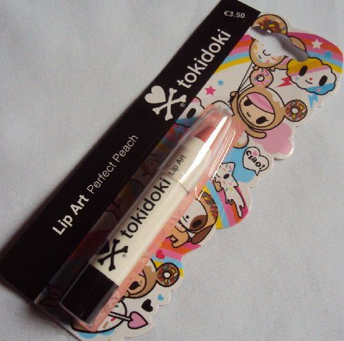 Lip Art de Tokidoki (teinte perfect peach)
