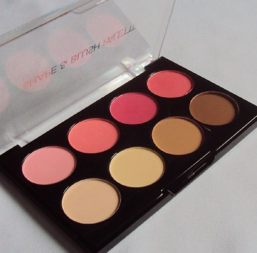 Shape &amp&#x3B; Blush palette de Action