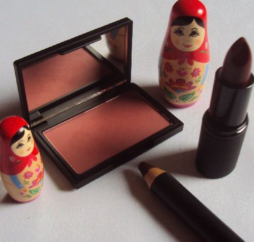 J'ai ressorti de mes tiroirs la Berry Collection de Sleek MakeUp