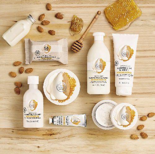 The Body Shop : la collection Almond Milk &amp&#x3B; Honey