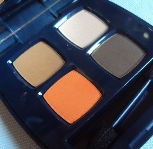 Cozy quartet eyeshadow de Flormar (teinte 01 nude peaches)