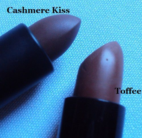 Sur mes lèvres : Cashmere Kiss matt long last lipstick de P.S. (Primark)