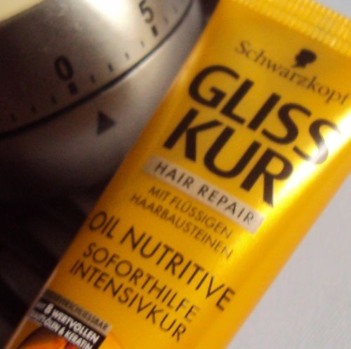 Le masque capillaire Gliss Kur Oil Nutritive de Schwarzkopf